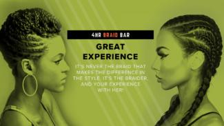 4HR Braid Bar Experience