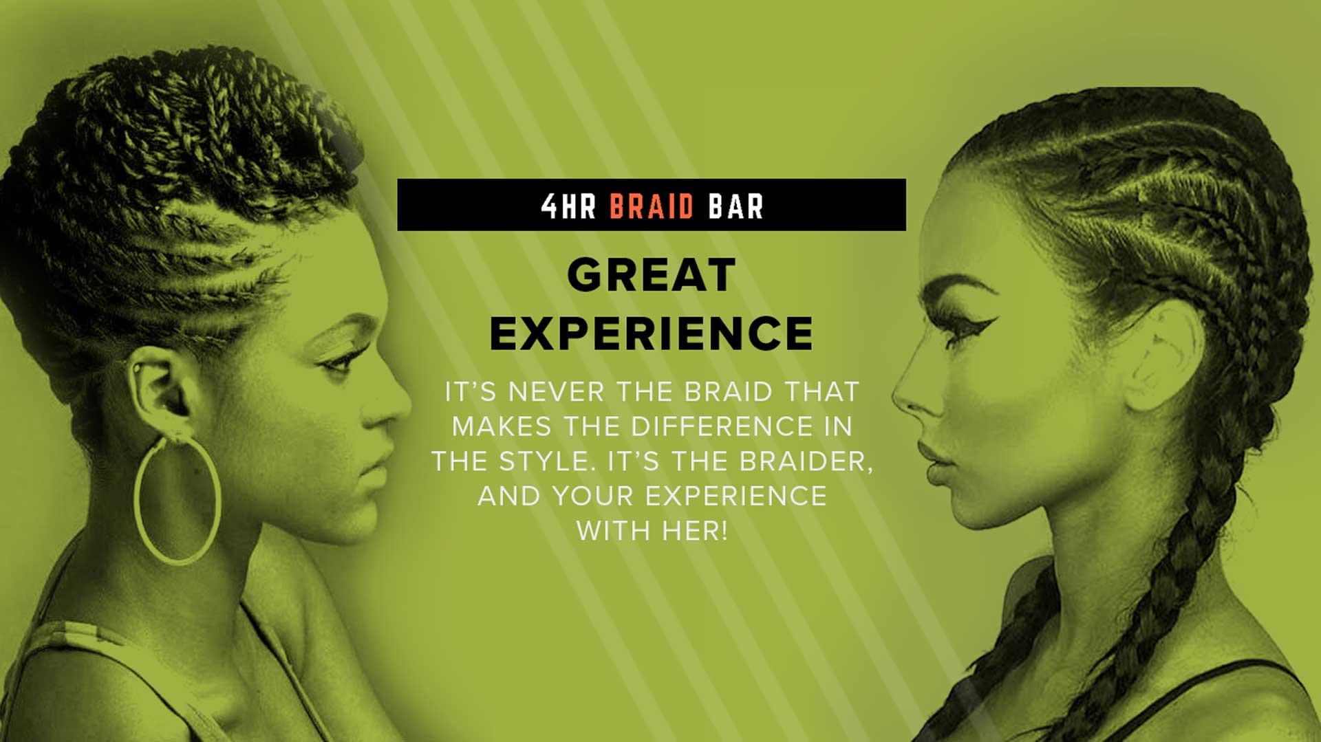 4HR Braid Bar Great Experience